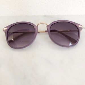 A. J Morgan Purple Sunglasses
